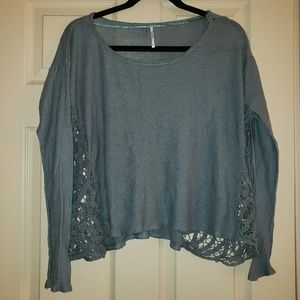 FP distressed sweater
